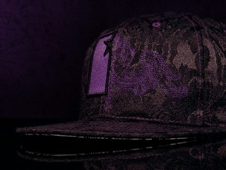 Paisley Fitted Hat
