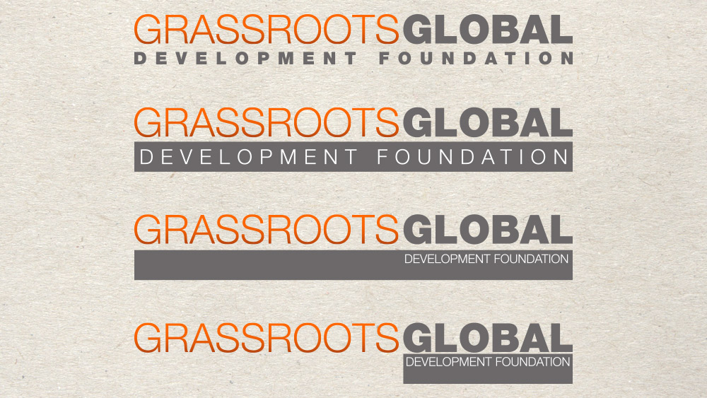 Grassroots Global Development Foundation Identity 04