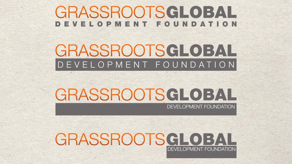 Grassroots Global Development Foundation Identity 04