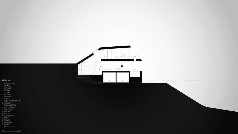 Villa F - Blueprints 05 - By Hornung and Jacobi Architecture