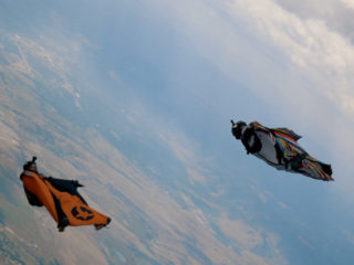 Cinematic Wingsuit Research