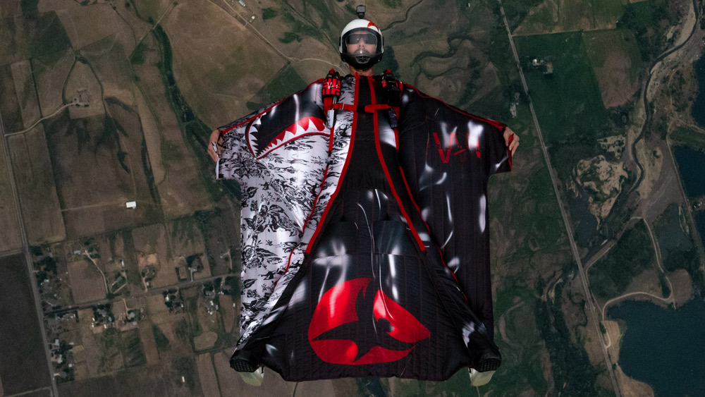 Wingmark 3D Wingsuit Artwork